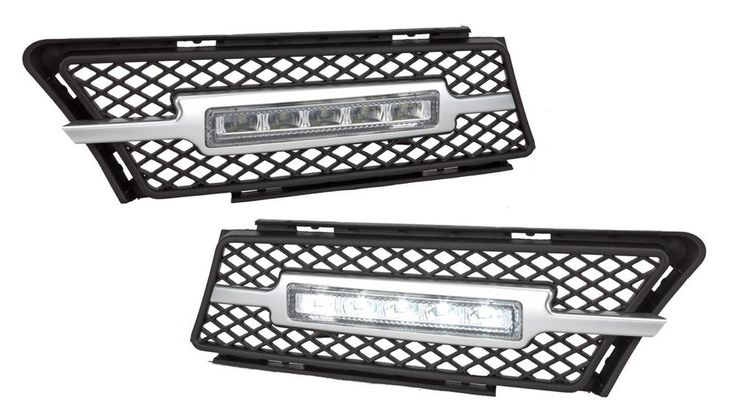05-08 BMW E90 E91 3 Series Stock Bumper LED Daytime