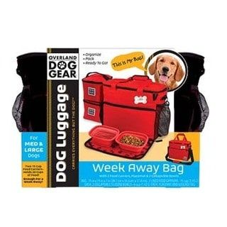 Shop for Overland Travelware Dog Gear Week Away Black Medium and Large Dog Bag. Get free delivery at Overstock.com - Your Online Pet Carriers