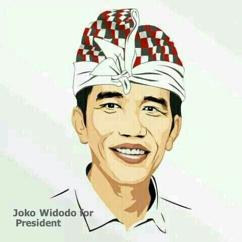 Jokowi for Indonesia. God bless our country