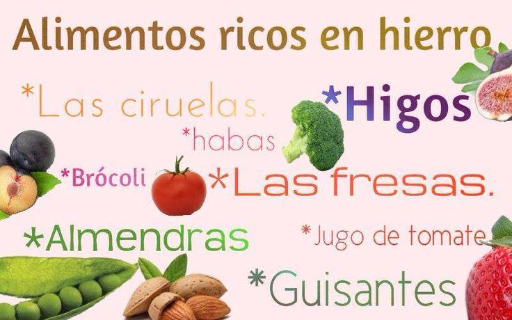 239 best vitaminas images on pinterest health foods healthy lifestyle and healthy eating - Alimentos ricos en calcio y hierro ...