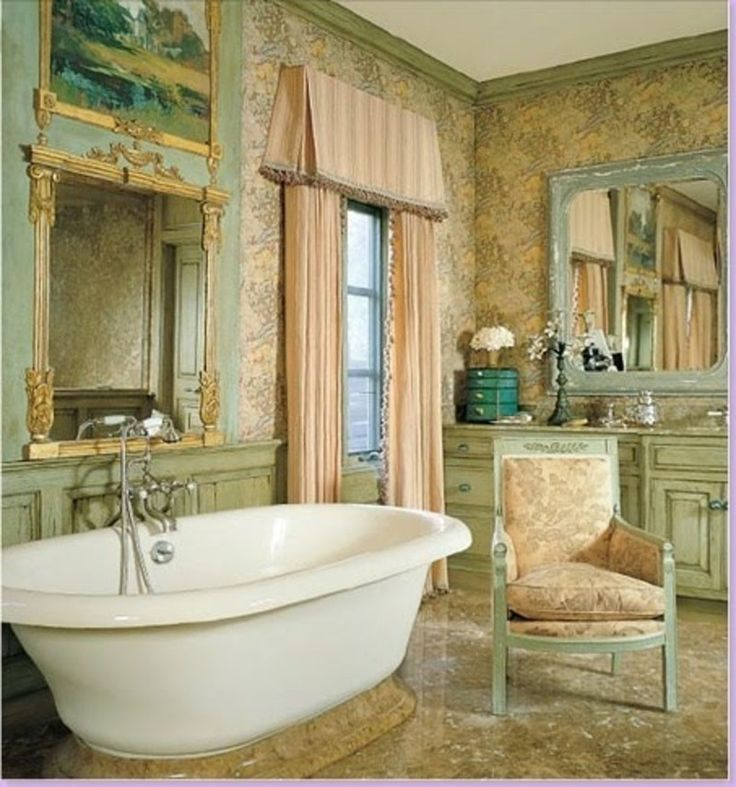 25 best ideas about french country bathrooms on pinterest for A bathroom in french