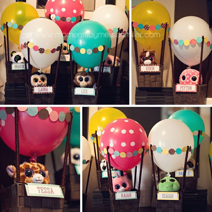 Goody Bags For Hot Air Balloon Themed Birthday Party