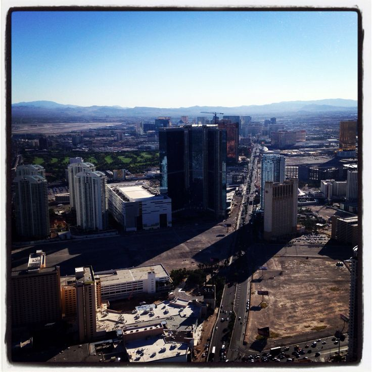 Vegas from the Stratosphere