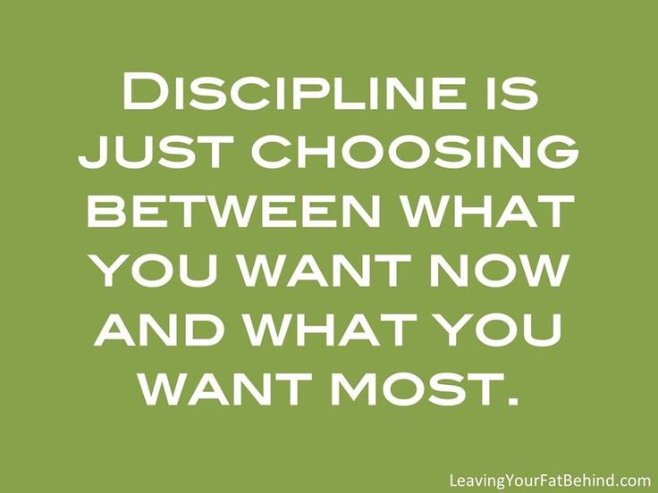 Discipline is just choosing between what you want now and what you want most. #CheBrown