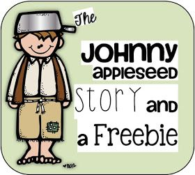 Johnny Appleseed Story and a Freebie Clever Classroom