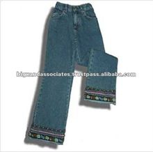 Boot-Cut Women Embroidered Jeans Best Buy follow this link http://shopingayo.space