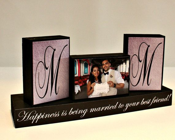 Personalized Unique Wedding Gift for Couples - Wedding Present Ideas - Happiness Is Being Married To Your Best Friend - Wedding Gifts Canada  with <3 from JDzigner www.jdzigner.com