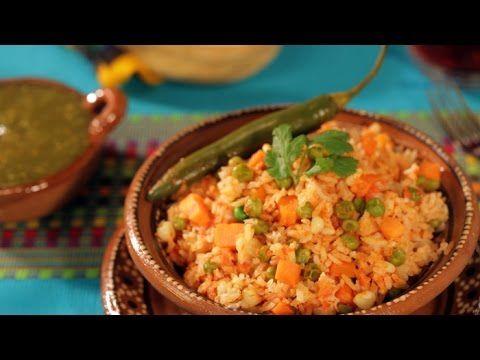 ¿Como preparar Arroz Rojo con Verduras?- Cocina Fresca