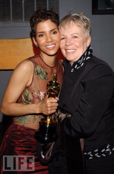 Halle Berry and mom Judith, 2007