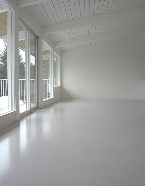 25 best ideas about white wash ceiling on pinterest for Decorative concrete floors residential