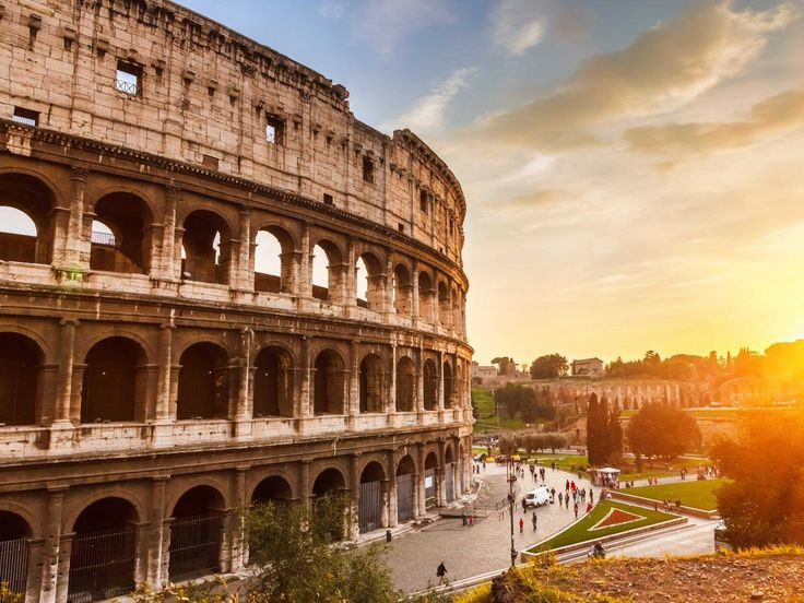 Explore the ruins of Rome's stately Colosseum and imagine the gladiator fights that once packed the arena.