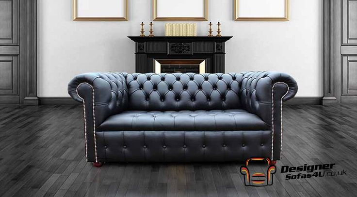 Chesterfield Leather Sofa, UK Manufactured, Chesterfield Cream Leather Sofa Offer, Chesterfield 2 Seater Settee Sofa Buttoned Seat Ivory Leather