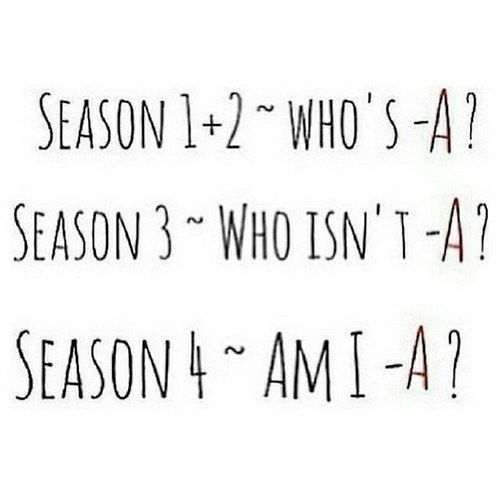 """These summaries of each season:   21 Things You'll Only Find Funny If You Watch """"Pretty Little Liars"""""""