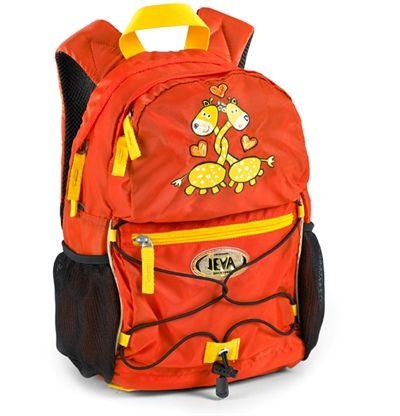 Super seje Jeva rygsæk til børn, Giraf Jeva  til Rygsække i behageligt materiale