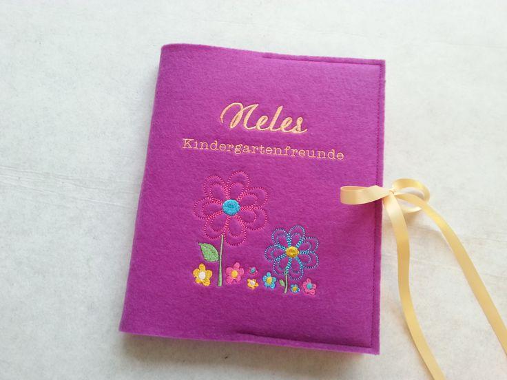 Kindergartenfreundebuch – Blumenwiese