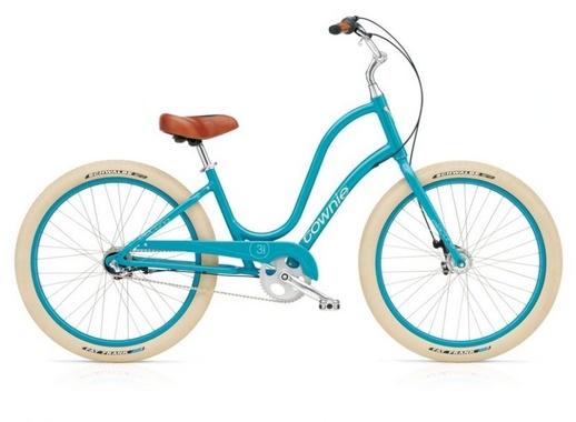 Купить Велосипед Electra Townie Balloon 3i azure женский в Украине с доставкой. Описание, характеристики и отзывы о Велосипед Electra Townie Balloon 3i azure женский