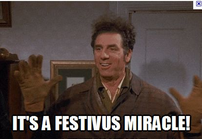 Festivus for the rest-of-us. Kinda like Shaddichah for us!
