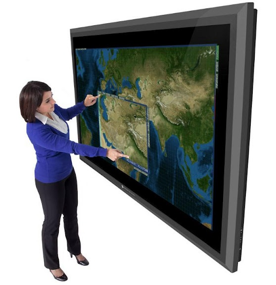 82-inch screens of Perceptive Pixel