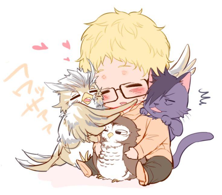 Kyyyaa! !!!! So cute tsukishima bukto akaashi and kuroo