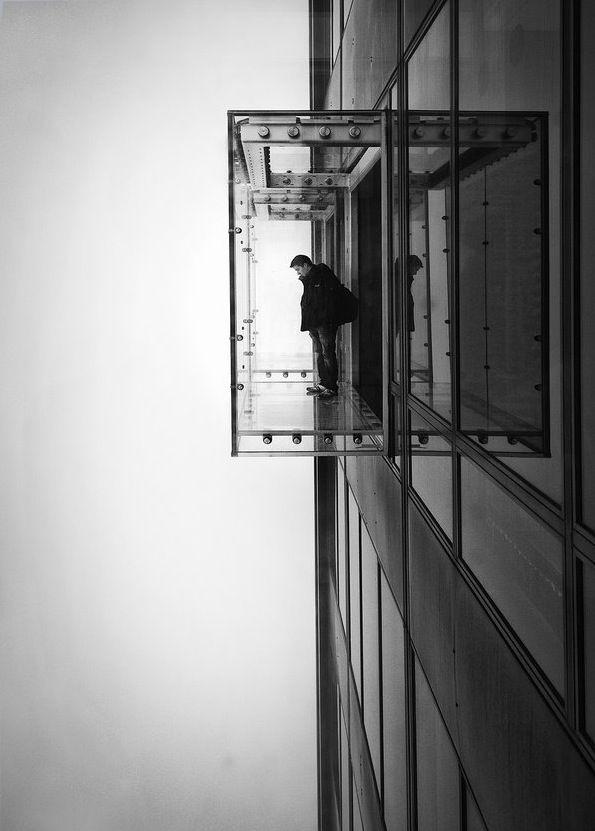 Invisible enclosure chicago architecture pinterest - Arquitectura invisible ...