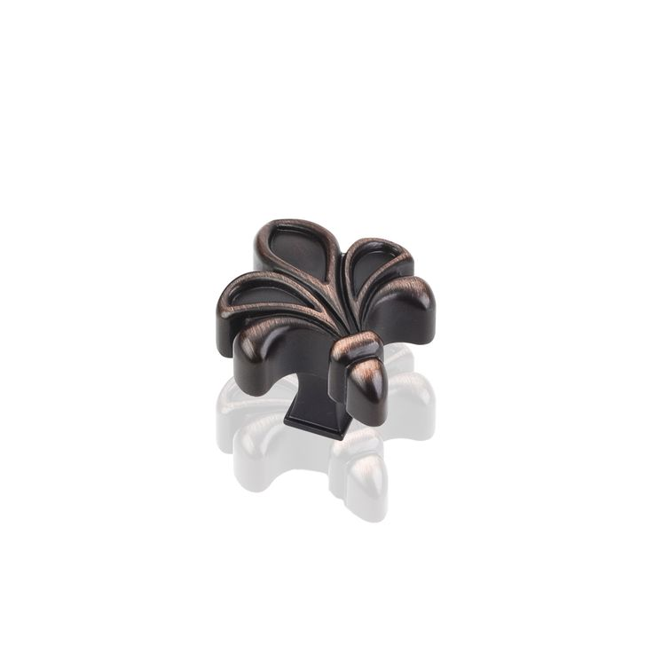 925dbac evangeline cabinet knob in brushed oil rubbed bronze