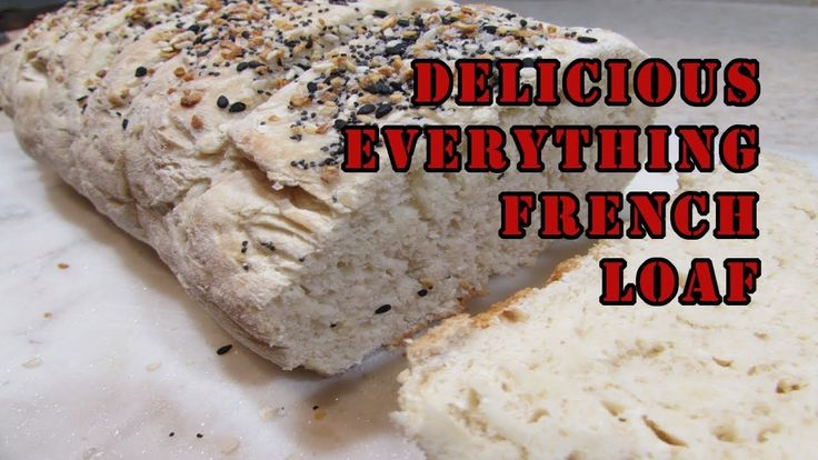 Delicious Everything Fench Loaf Ingredients: 1 Tbsp maple ...
