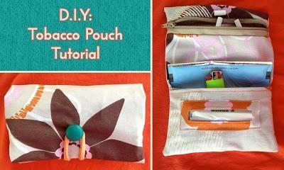 DIY Pouch DIY Tobacco Pouch DIY Pouch