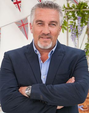 Paul Hollywood from The Great British Baking Show. I just turn the sound down & watch him. lol