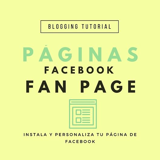 Como poner pestañas en mi pagina de facebook