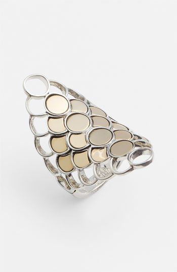 John Hardy 'Dot' Long Saddle Ring