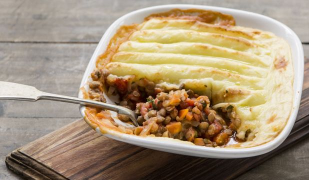 Budget Friendly: Meatless shepherd's pie