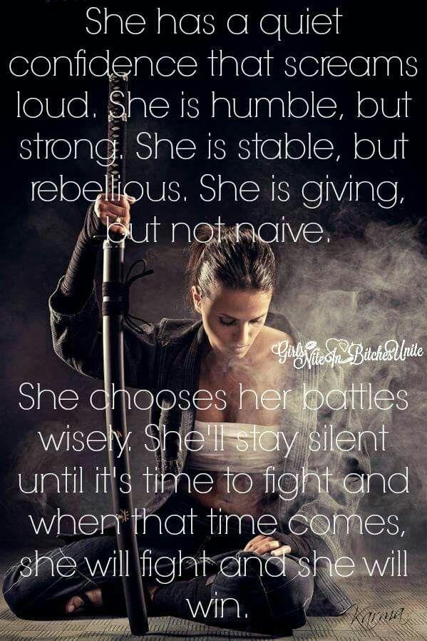 The female warrior