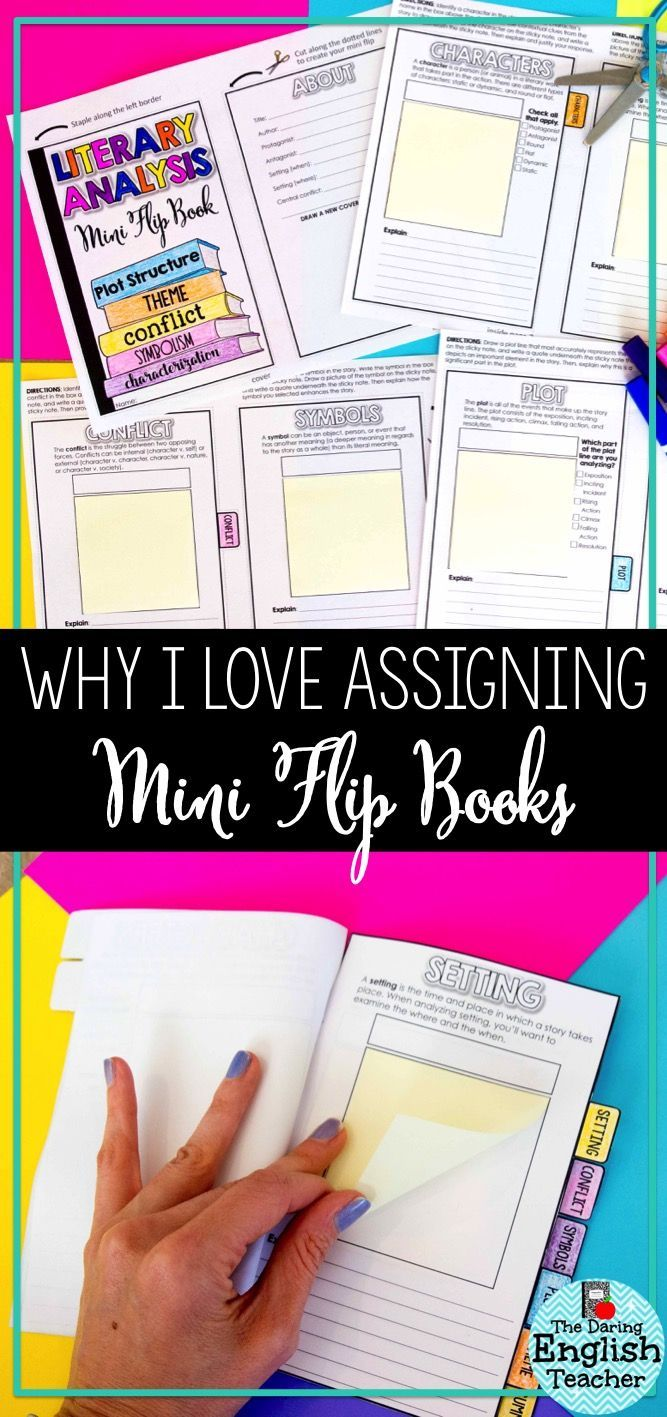 One way that I like to engage my students in learning and reviewing content is through mini flip book. Here is why I love using mini flip books in the middle school English language arts and high school English classes.