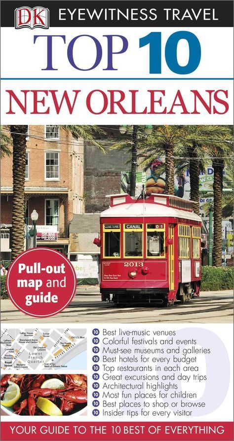 DK Eyewitness Travel Guides: the most maps, photography, and illustrations of any guide. DK Eyewitness Travel Guide: Top 10 New Orleans is your pocket guide to the very best of The Crescent City. Let