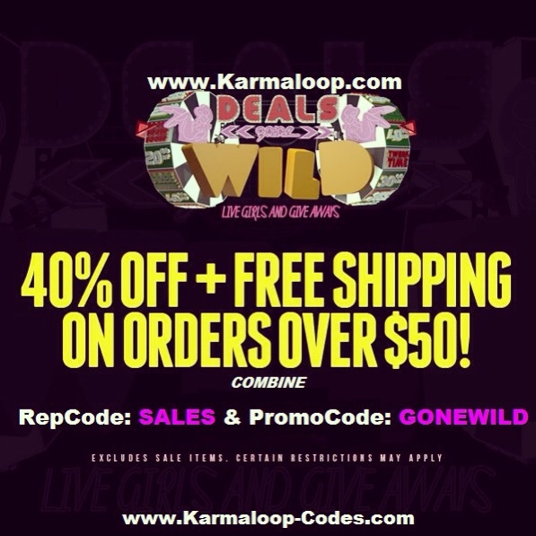 Karmaloop's Wild Sale:   Get 41% Off & Free Shipping on orders $50 or more at Karmaloop!  Exclude: Sale Items  Combine RepCode: SALES & PromoCode: GONEWILD at checkout page.  For more Karmaloop codes, visit http://www.Karmaloop-Codes.com    #karmaloop