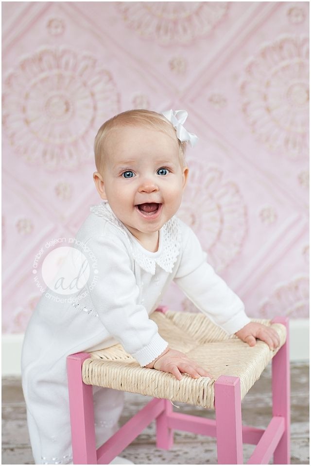Lila | 9 Months | Amber DeJean Photography | Hammond, LA Baby Photographer This.