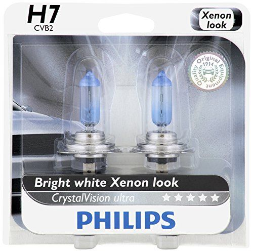 Philips H7 CrystalVision Ultra Upgrade Headlight Bulb 2 Pack -- You can get more details by clicking on the image.