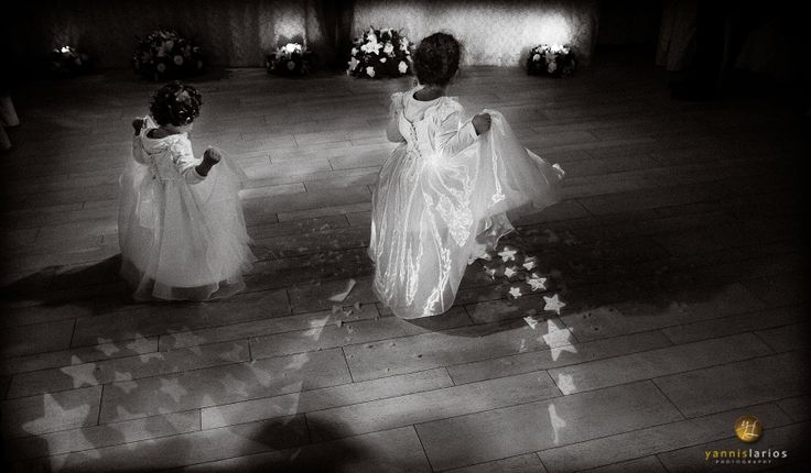 Little Bridesmaids in a Wedding Reception More of my wedding photography is at http://www.yannislarios.com