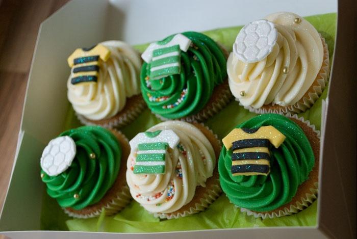 Celtic FC Cupcakes