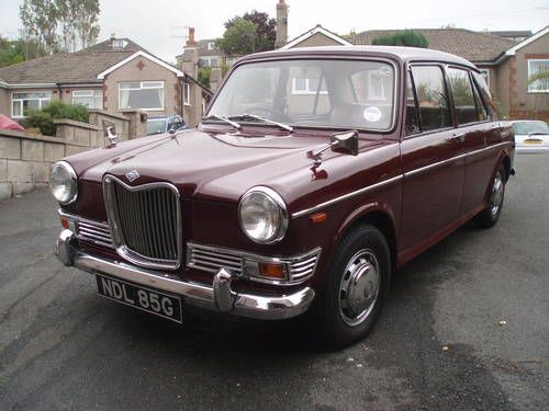 Riley 1300 Kestrel 1969 - Mine only lasted 3 months as a student............