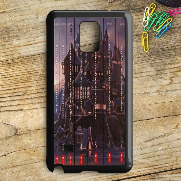 Harry Potter Book Collection Samsung Galaxy Note 5 Case | armeyla.com