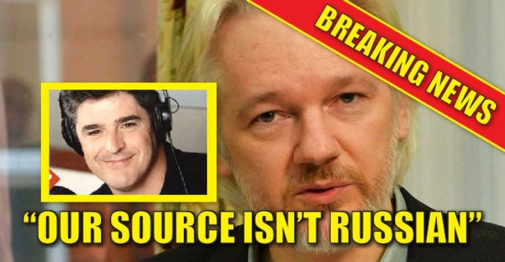 "Thursday on the Sean Hannity's radio show, editor-in-chief of  WikiLeaks Julian Assange said the Russian government was not his source for the hacked emails they released from both the Democratic National Committee and the chairman of the 2016 Hillary Clinton presidential campaign John Podesta. Assange said, ""Our source is not the Russian government."" Hannity asked, ""In other words, let me be clear, Russia did not give you the Podesta documents or anything from the DNC? Assange replied…"