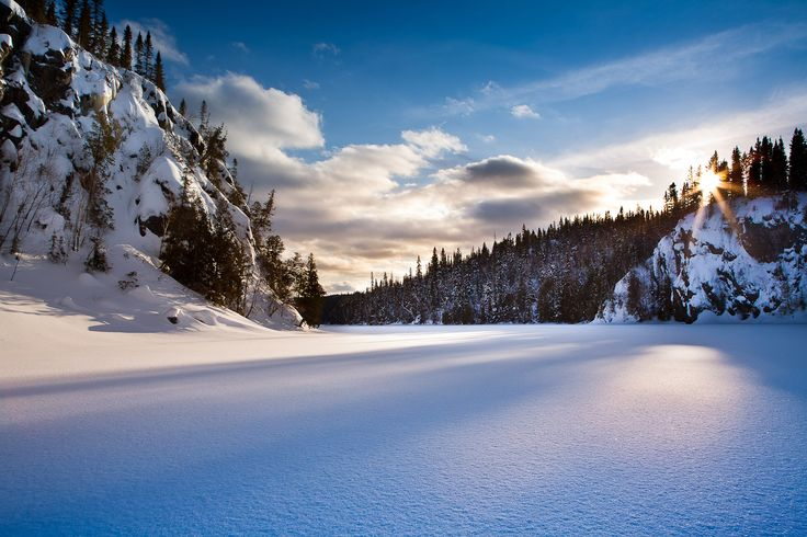 Lac La Haie, Parc national d'Aiguebelle, Abitibi-Témiscamingue, Québec, Canada by Mathieu Dupuis www.mathieudupuis.com