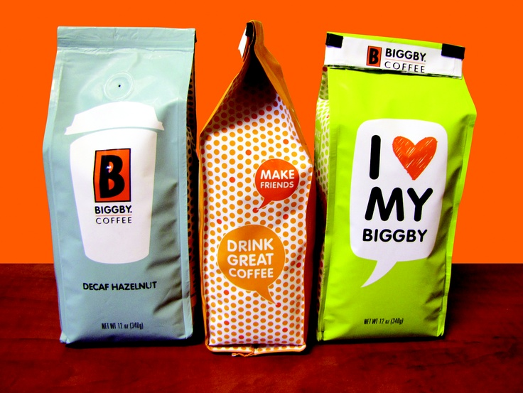 Mmmm! Drink great (BIGGBY) coffee :)
