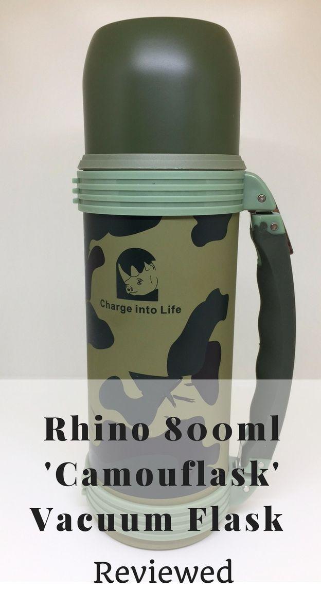 Rhino 800ml 'Camouflask' Vacuum Flask Review