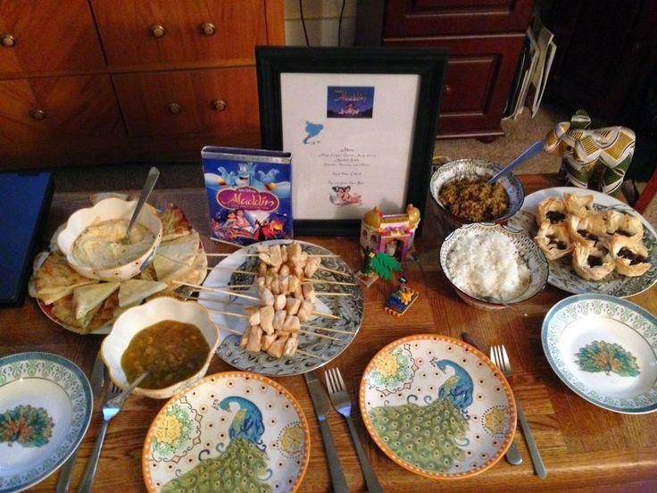 Aladdin Theme Dinner