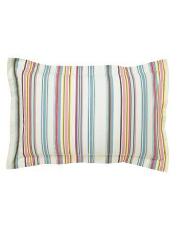 PILLOWBATHSTRPBath Stripe Oxford Pillowcase x2