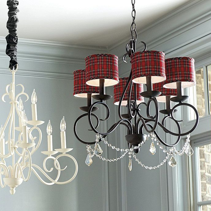 Suzanne Kasler Holiday Chandelier Shades