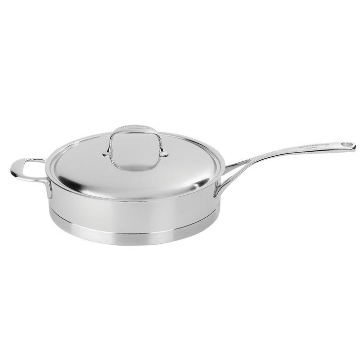 Demeyere Atlantis 5.1-qt Stainless Steel Saute Pan with Helper Handle