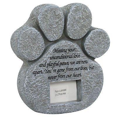 Pet Dog Stepping Stone Mold Garden Plaque Paw Print Cat Memorial Stone Grave